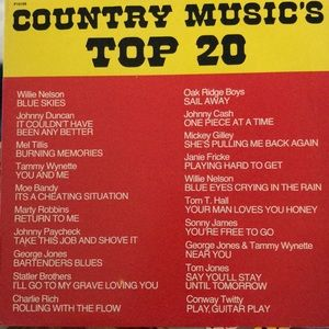 Other - Top 20 CLASSICS Country Music, a record (uni-sex)